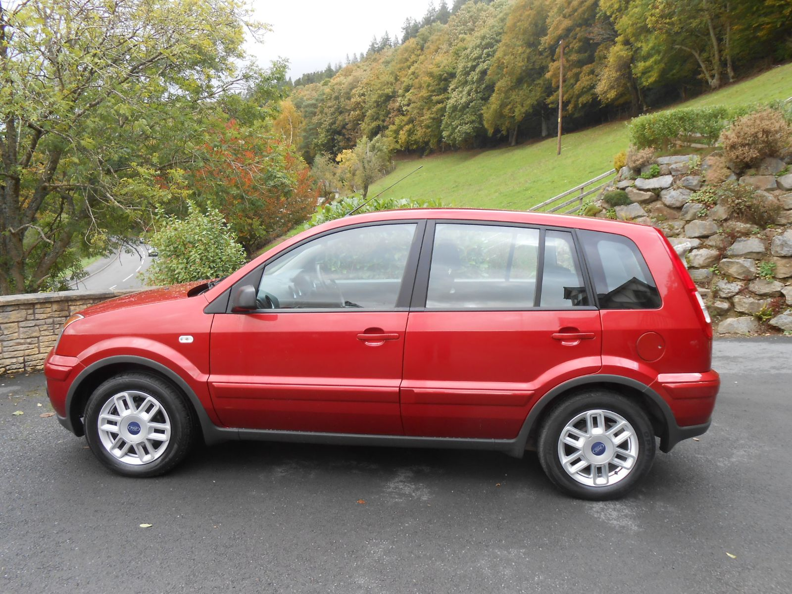 Ford Fusion 1 6 Zetec Auto Car For Sale Llanidloes Powys