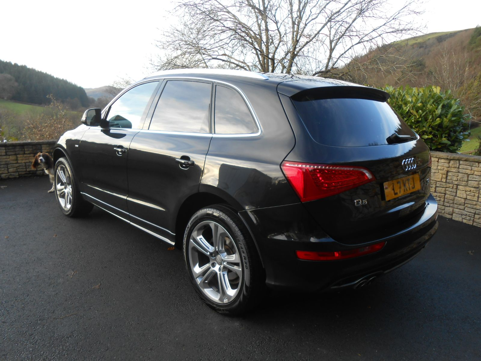 Audi Q5 2.0 TDi 170 S Line Special Edition car for sale Llanidloes Powys Mid Wales Kevin Jones ...