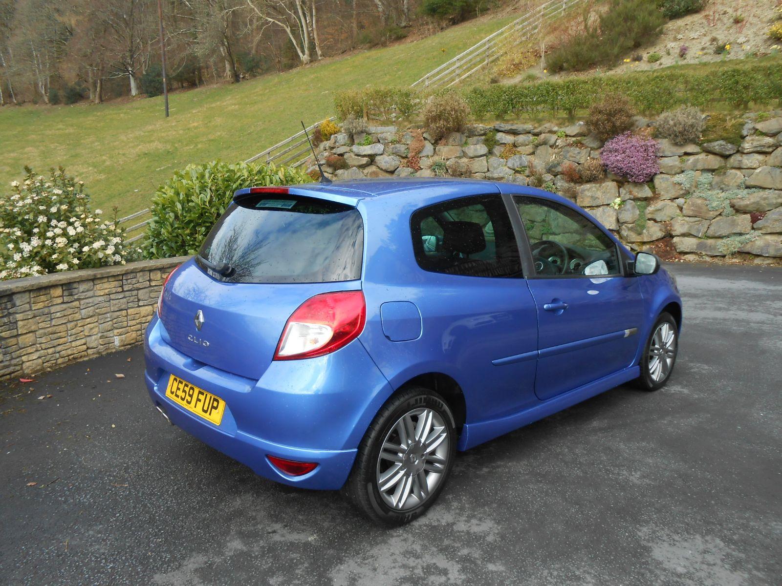 Renault Clio 1 6 Gt 3 Door Car For Sale Llanidloes Powys
