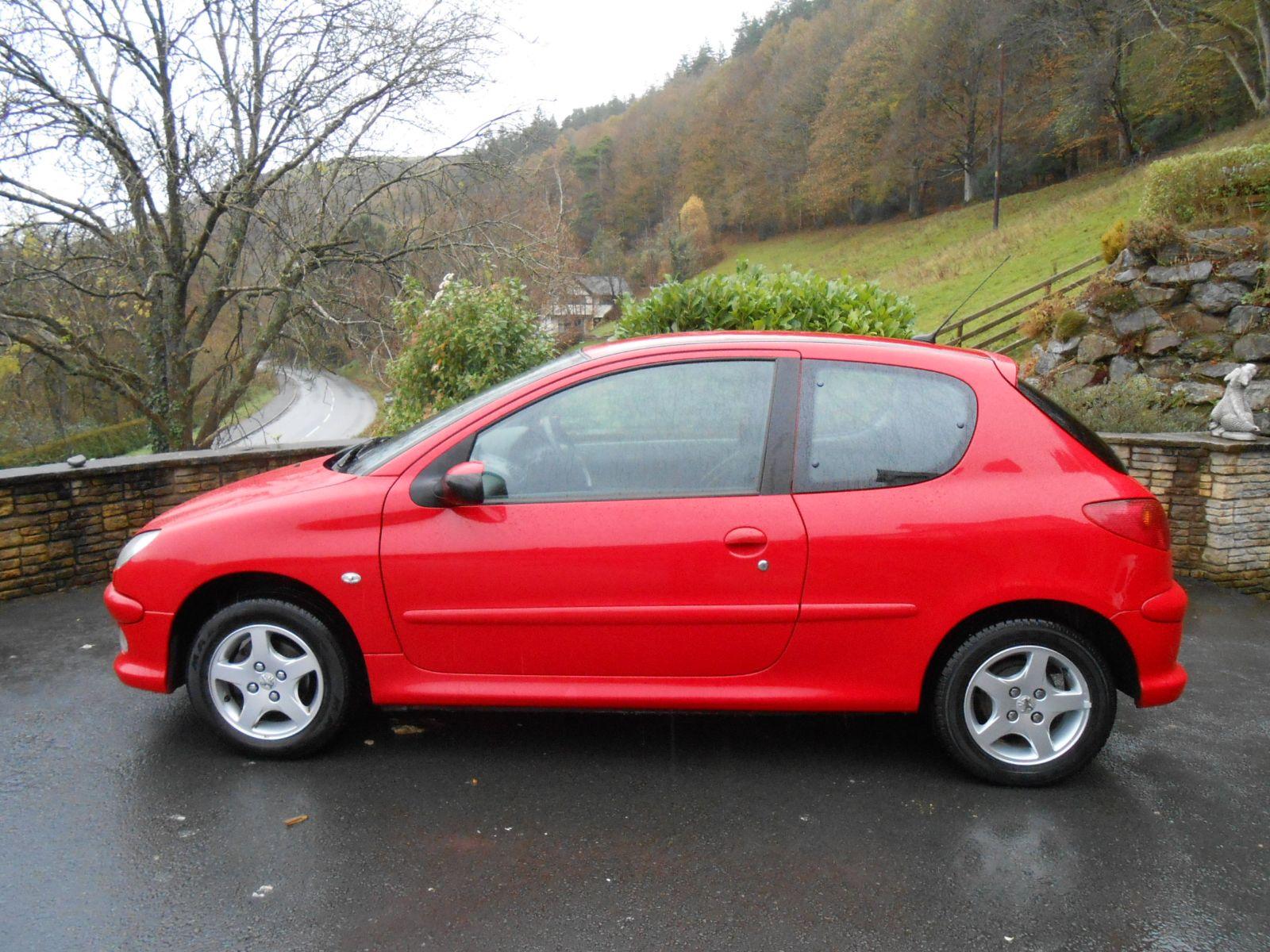 Peugeot 206 1 4 Verve 3 Door Car For Sale Llanidloes Powys
