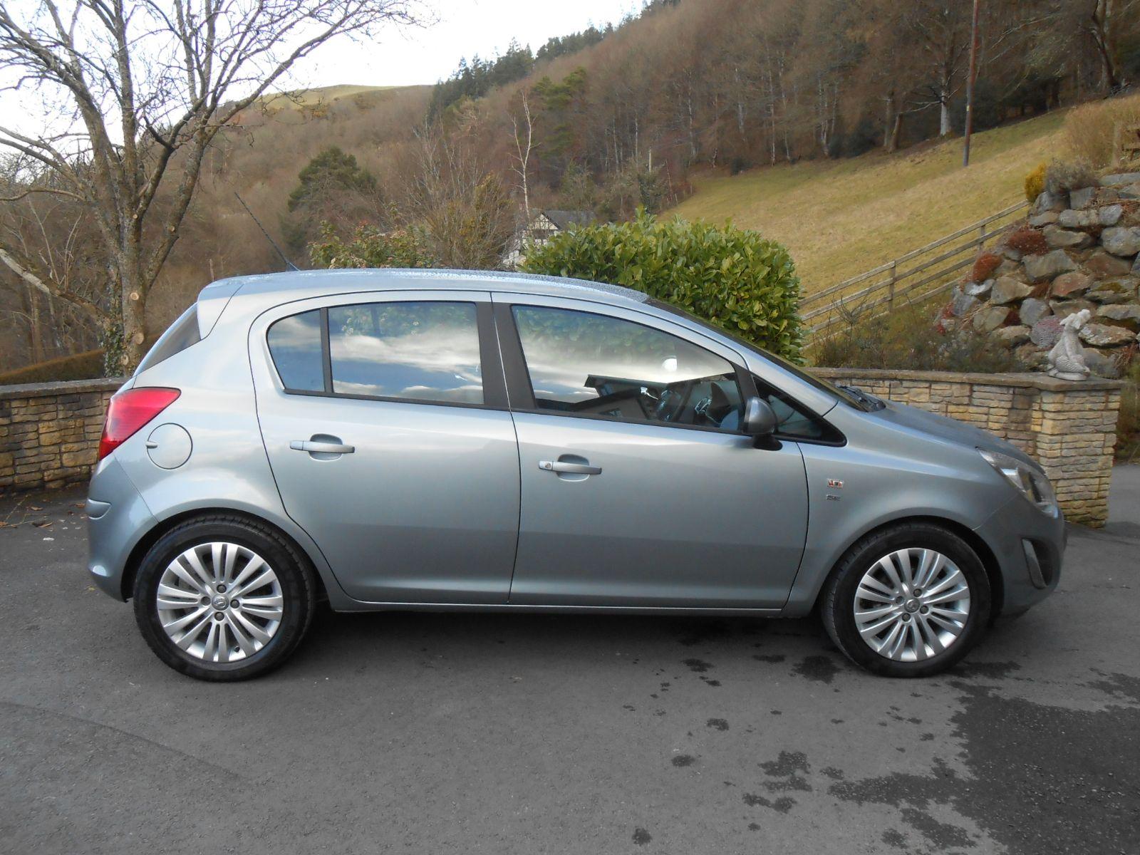 Vauxhall Corsa 1 4 Se 5 Door Car For Sale Llanidloes Powys