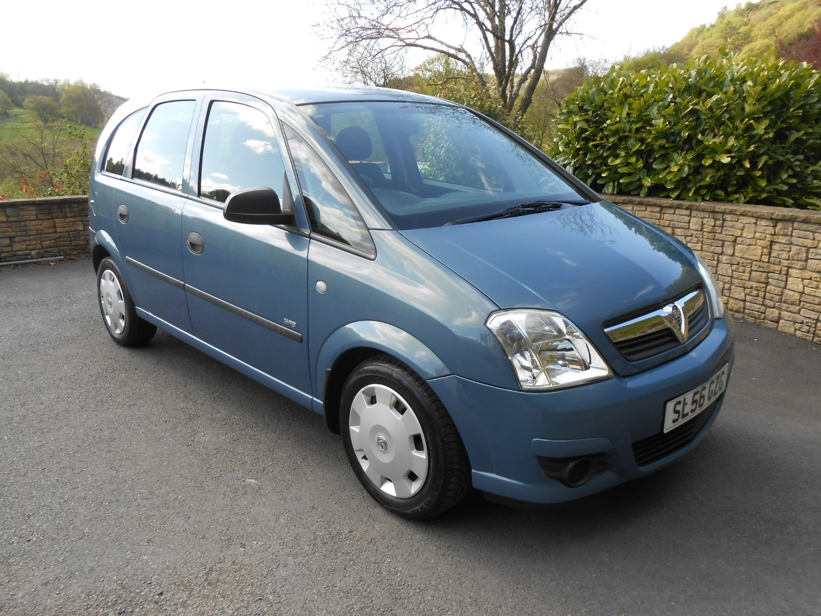 Personal Contract Hire >> Vauxhall Meriva 1.4 Life 5 Door car for sale Llanidloes Powys Mid Wales Kevin Jones Cars - Used ...