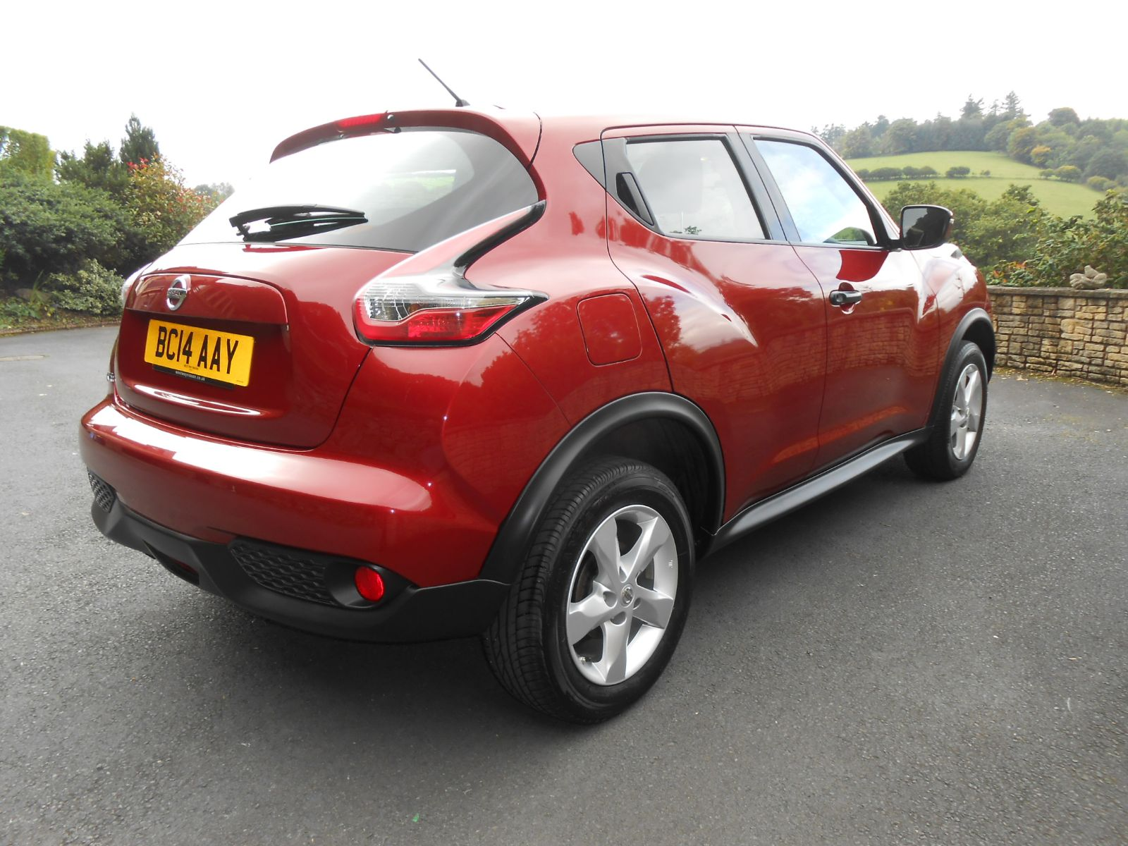 nissan juke 1 6 visia car for sale llanidloes powys mid wales kevin jones cars used cars. Black Bedroom Furniture Sets. Home Design Ideas