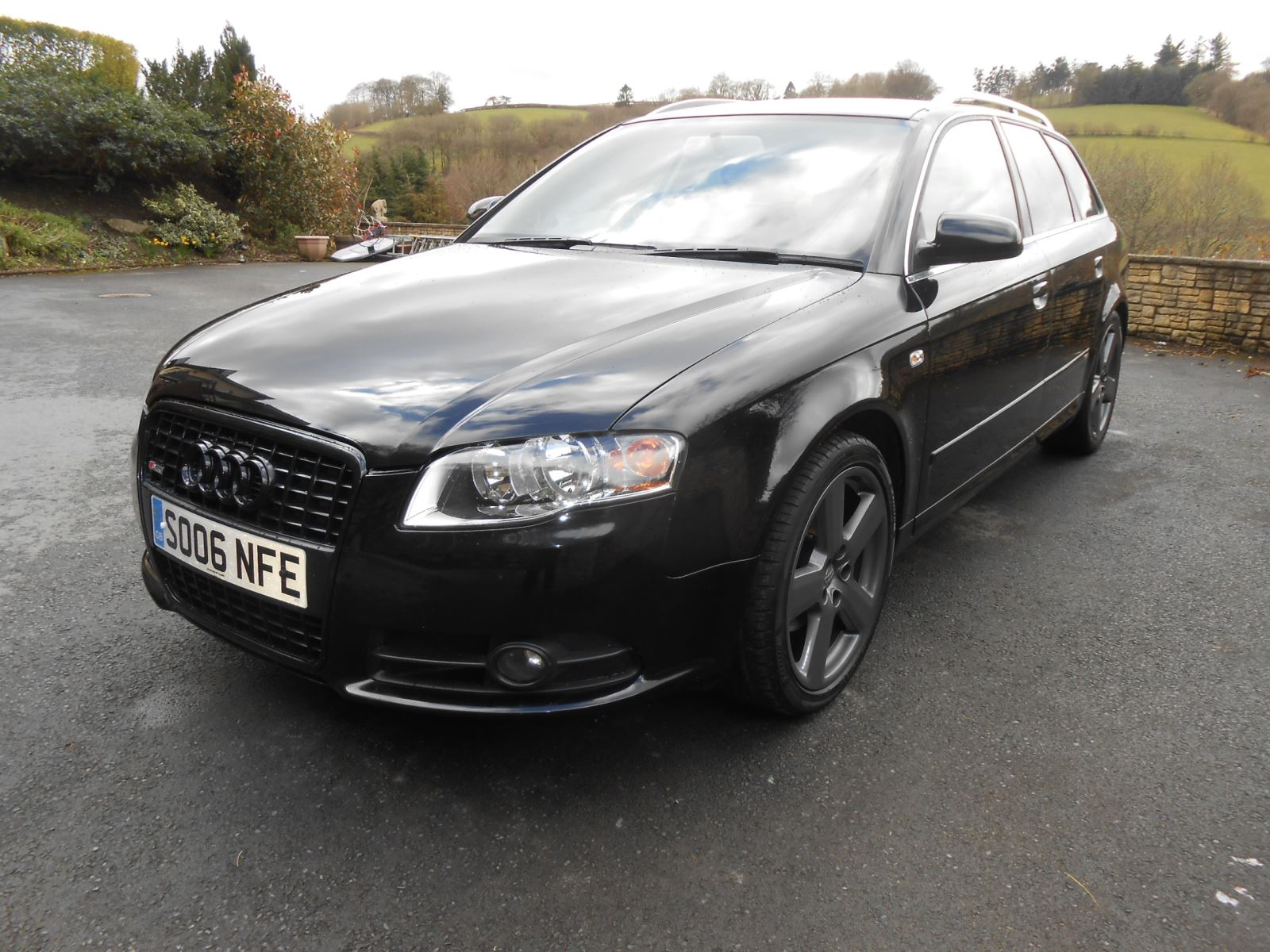 audi a4 avant 1 9 tdi 115 s line car for sale llanidloes. Black Bedroom Furniture Sets. Home Design Ideas