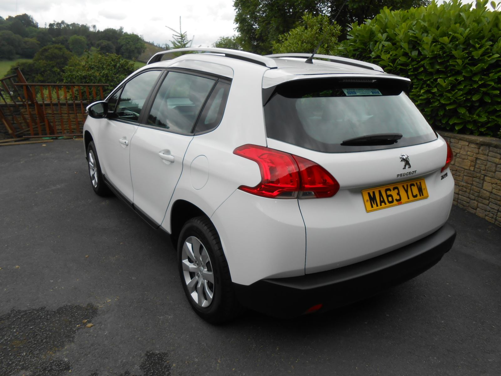 peugeot 2008 1 2 access plus 5 door car for sale llanidloes powys mid wales kevin jones cars. Black Bedroom Furniture Sets. Home Design Ideas
