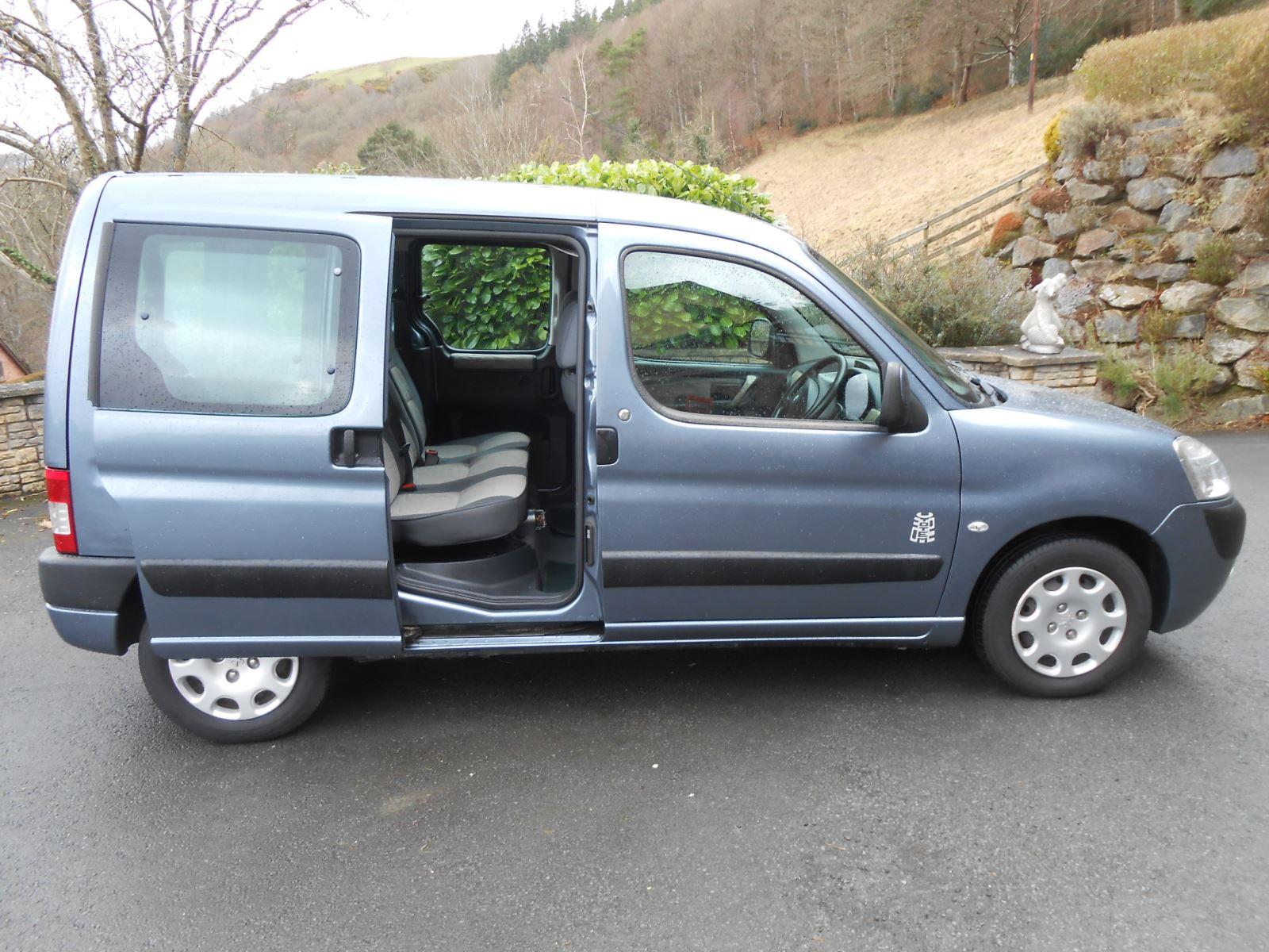 Peugeot Partner Horizon 1 4 Wheelchair Access Car For Sale